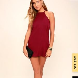 Lulu's Special Occasion Red Dress